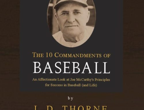 News Release: Sporting Chance Press 10 Commandments of Baseball Audio Disk Now Available