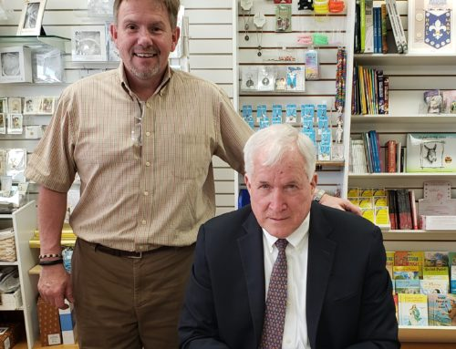 Chicago Bears Patrick McCaskey Signs Books in Crystal Lake