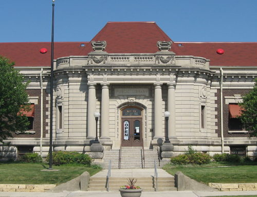 Small but Beautiful Carnegie Library Building in Danville, Illinois
