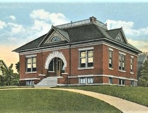 Presque Isle Carnegie Library and the Mark and Emily Turner Memorial Library