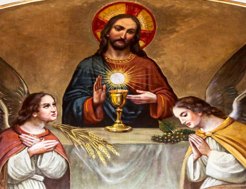 Poems About the Gospel: The Last Supper Was the First Eucharist by Patrick McCaskey